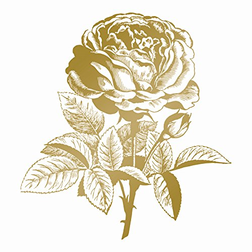 Couture Creations Classic rose Hot foil stamp die, metallo, grigio, 20.5x 14.5x 0.8cm Art Deco CO725293