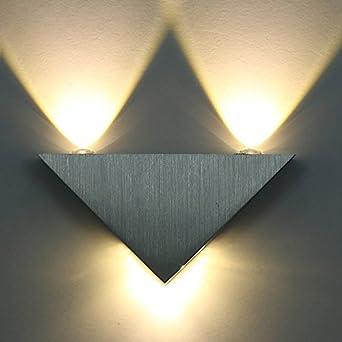 Triangle Intérieur Applique Murale Extérieur Effet Led Lampe yNv80nOmwP