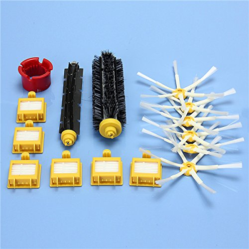 Hitommy 15Pcs Vac Filtro With Armed Side Cepillos For Irobot Roomba 700 Series 760 770 780 790