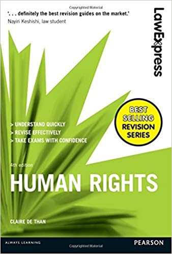 Book Human Rights: Uk Edition (Law Express) [7/17/2016] Claire De Than