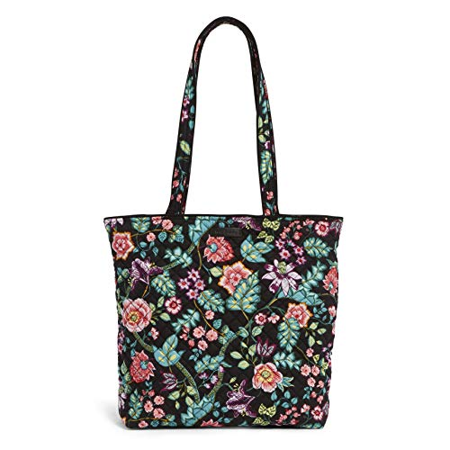 Vera Bradley Iconic Tote Bag, Signature Cotton, Vines Floral, vines floral, One ()