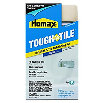 Tub and Tile Refinishing Kit, Bisque, 32 oz., Aerosol, Tough as ...