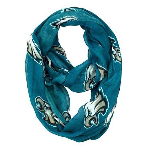 Philadelphia Eagles Little Earth Productions Sheer Infinity Scarf - Store Outlet Philadelphia