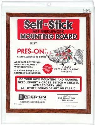 Pres-On Mounting Board 8x10 B8