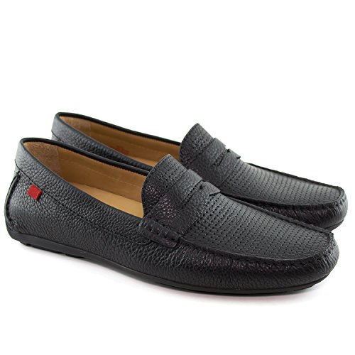 31b093604e6 Marc Joseph New York Mens Leather Union Street Driver Driving Style Loafer