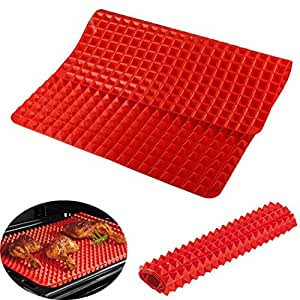 Bandeja de barbacoa de cocina barbacoa de silicona microondas horno pollo barbacoa de silicona Mat