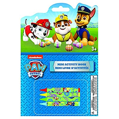 Danawares Paw Patrol Boy Mini Book with Mini Crayons On Cover Age/Grade 3+: Toys & Games
