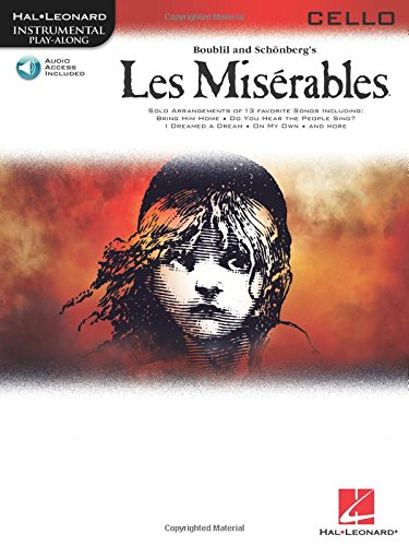 Les Miserables Selections For Cello BK/online audio (Hal Leonard Instumental Play-Along)