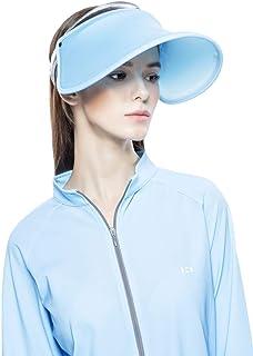 ea06188eb HOII Anti-UV UPF 50+ Light/Foldable Roll-up Sun Visor Hat, One-Size ...