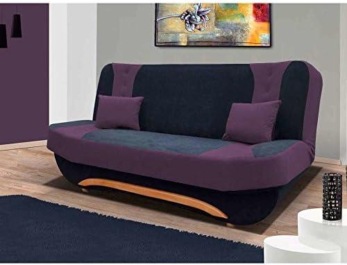 justyou EVA II único sofá sofá Dormir sofá microfibra ...