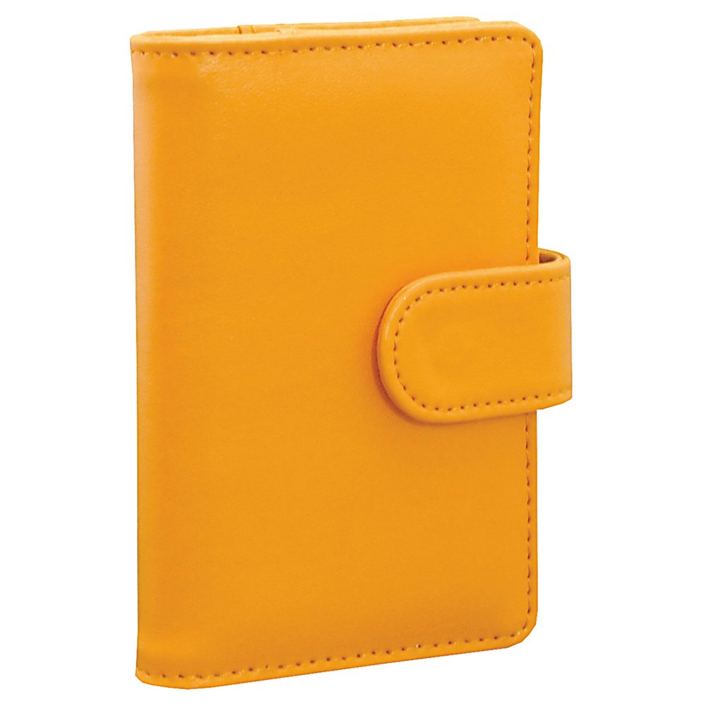 1 X Yellow Fuji Instax Soft Cover Pocket Photo Album x Instax Mini 8 /7s /50s/ Polaroid Mio & 300 Instant Cameras