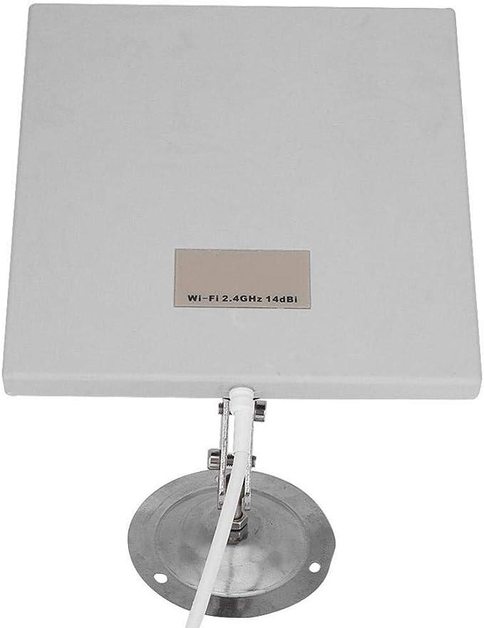 Antena de Panel direccional, El Panel de la Antena de Largo Alcance de la dirección del Extensor de la señal de 2.4GHz 14DPI WiFi