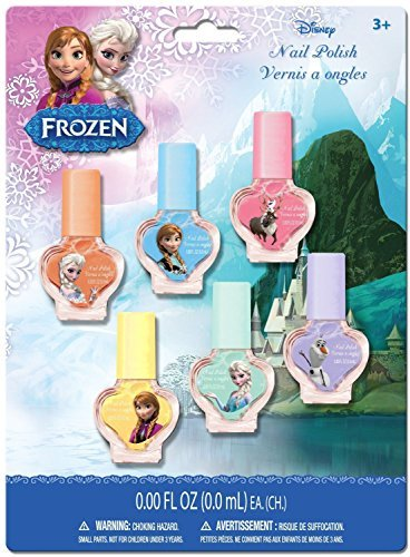 Disney Frozen Anna, Elsa & Olaf Nail Polish Set