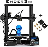 SainSmart x Creality Ender-3 PRO 3D Printer with Upgraded C-Magnet Build Surface Plate Mat, UL Certified Power