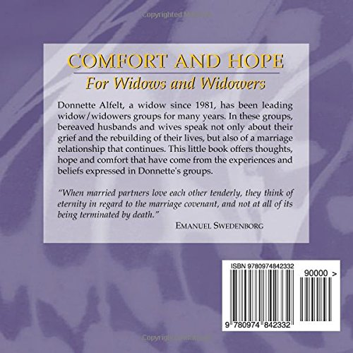 Comfort and Hope for Widows and Widowers