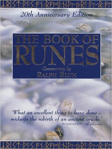 The Book Of Runes Amazon Ralph Blum 9781859060421 Books