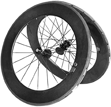Carbono Tubular 700C Ruedas Bicicleta Aro 88 Mm Radios Hub: Amazon.es: Deportes y aire libre