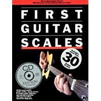 First Guitar Scales (Book/CD)