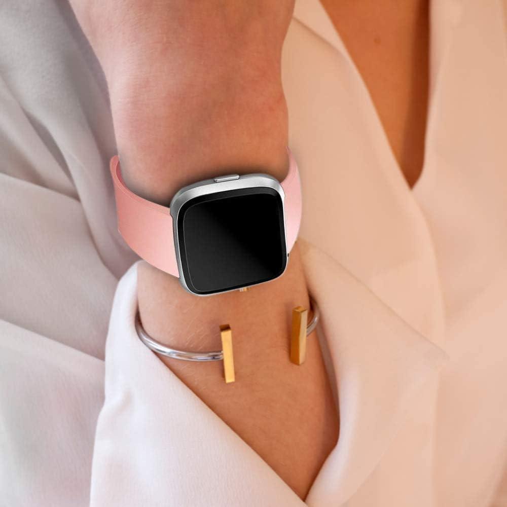 Versa Lite Klassisch Weiches TPU Sports Verstellbares Ersatz Armb/änder f/ür Fitbit Versa//Versa 2 Vancle 3 Pack Kompatibel f/ür Fitbit Versa Armband//Fitbit Versa 2 Armband