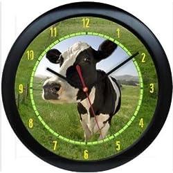 Dairy Cow Personalized Farm Animal Print Gift Custom Wall Clock Service Gift Wall Clock Quartz 9.65