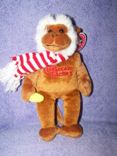 the-cheesecake-factory-large-11-holiday-plush-monkey-by-herrington-teddy-bears