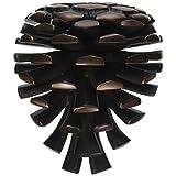 Michael Healy Designs Pinecone Door Knocker - Oiled Bronze (Premium Size)