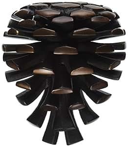 Pinecone door knocker oiled bronze premium size - Pine cone door knocker ...