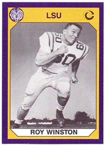 - Roy Winston 1990 LSU Tigers Collegiate Collection #144 - Minnesota Vikings