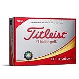 Titleist DT TruSoft Golf Balls (One Dozen)
