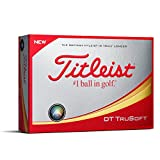 Titleist DT TruSoft Golf Balls, White  (One Dozen)