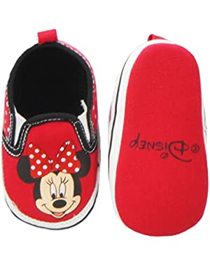 Newborn/Infants Girls Minnie Mouse Slip On