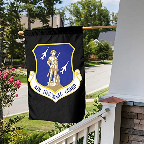 FLAGERLIN United States Air Force National Guard Double-Sided Decorative Garden Flag Outdoor Patio Seasonal Holiday Family Flag - 12.5x18inch   28x40inch Home House Flag