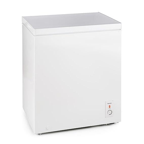 Klarstein Iceblokk congelador horizontal (145 litros capacidad ...