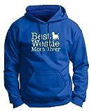 West Highland Terrier Calendar West Highland Terrier Gifts Best Westie Mom Ever Premium Hoodie Sweatshirt 3XL Royal
