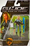 """G.I. Joe Rise of Cobra Movie Figure Courtney """"Cover Girl"""" Krieger (Special Weapons Officer)"""