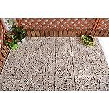 """Courtyard Casual 5117 Outdoor Deck Tiles, 12"""" x"""