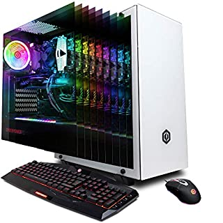 CYBERPOWERPC Gamer Xtreme GXi11160CPG Gaming PC (Intel i7-9700K 3.6GHz, 16GB DDR4, NVIDIA GeForce RTX 2080 Ti 11GB, 240GB SSD, 2TB HDD, WiFi & Win 10 Home) White (B07J25H8PQ) | Amazon price tracker / tracking, Amazon price history charts, Amazon price watches, Amazon price drop alerts