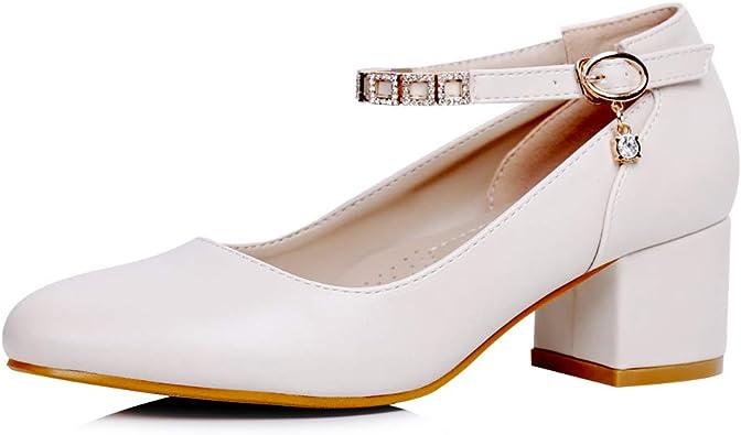 sorliva Mary Jane Shoes Women Low Heel