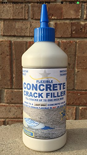 Bluestar Flexible Concrete Crack Filler (LIGHT GRAY) Concrete Crack Seal