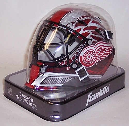 - Detroit Red Wings Franklin Sports NHL Mini Goalie Mask - New in Box