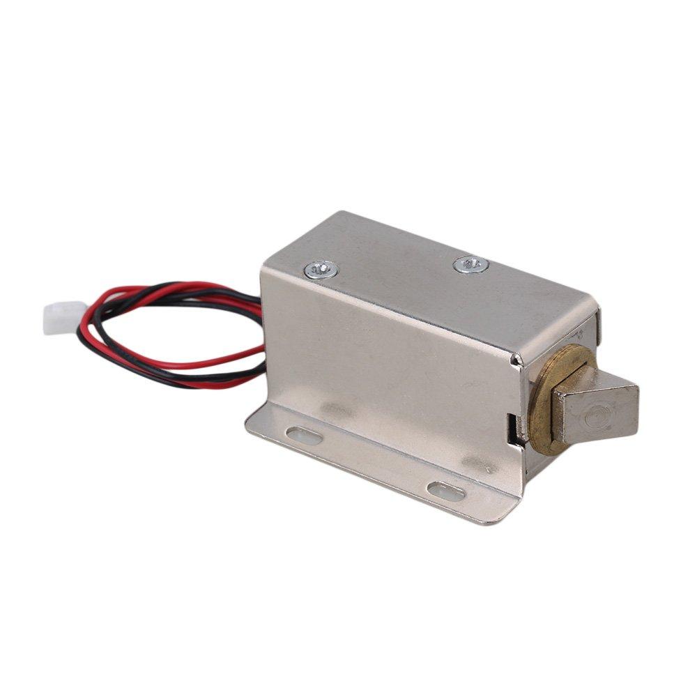 Right Head Lock Upward Solenoid Electric Lock Assembly 24V TFS-A22