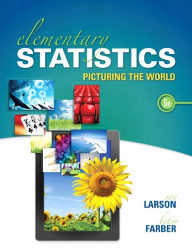 Elementary Statistics: Picturing the World Pdf