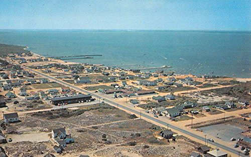Dewey Beach Delaware Birdseye View Of City Vintage Postcard K90870