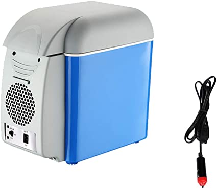 Amazon.es: LJJBOX Nevera Portatil Coche, Coche Frigorífico, Caja de Aislamiento del Refrigerador, Nevera Camping Electrica, Blue-A-7.5L
