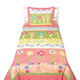 "2 Piece Twin Bedding Set ""My Lovely Garden"" by Sumersault"
