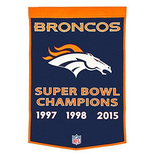 (Winning Streak NFL Denver Broncos Dynasty Banner)