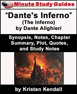 Amazon Com 30 Minute Study Guide Dante S Inferno The