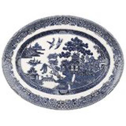 Wedgwood Johnson Brothers Willow Blue Platter