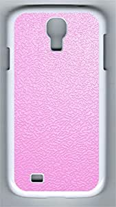 Samsung S4 Case Pink traces PC Custom Samsung S4 Case Cover White