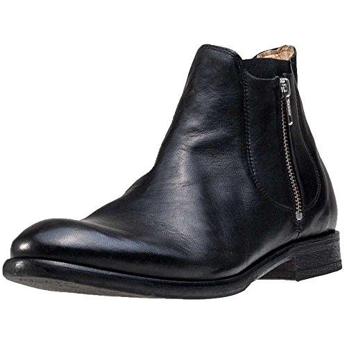 Hudson Cooke Calf, Bottes Classiques Homme Black
